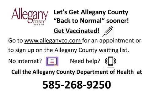 Allegany County Vaccinations